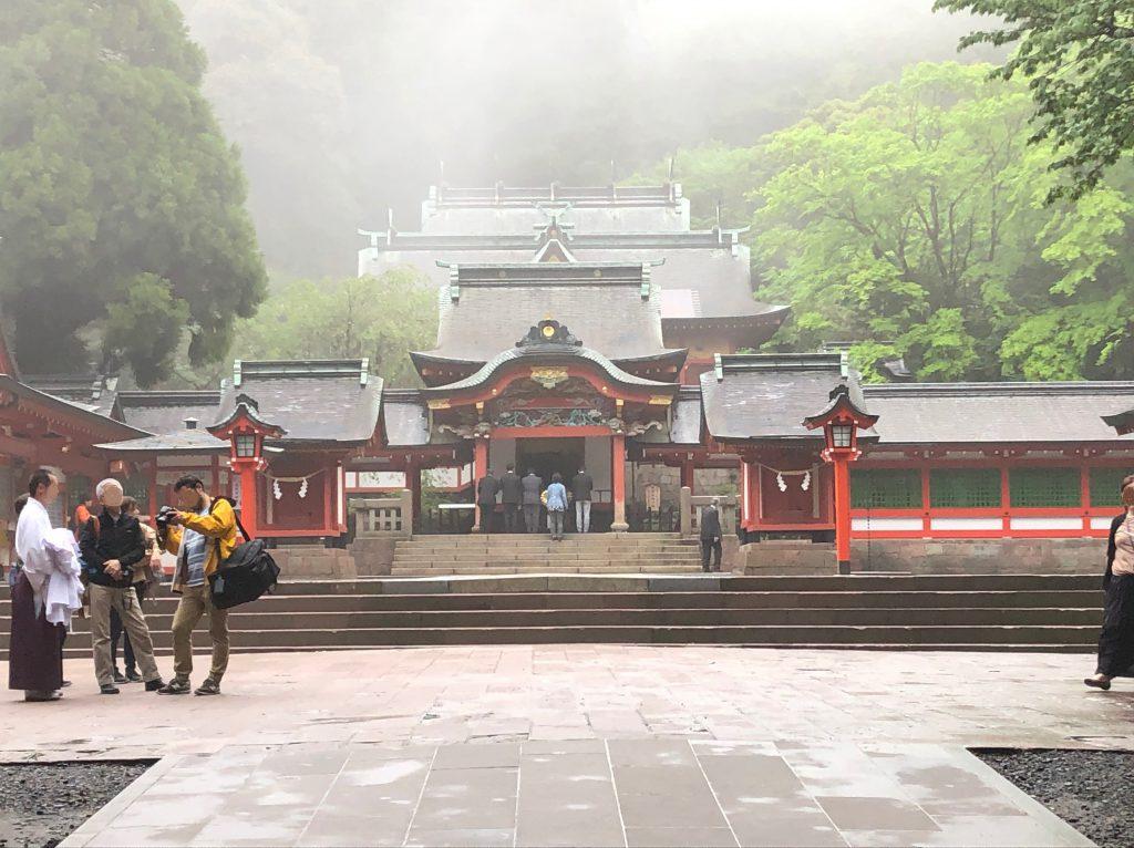 【国分中央レジデンス】霧島神宮に行ってきました。