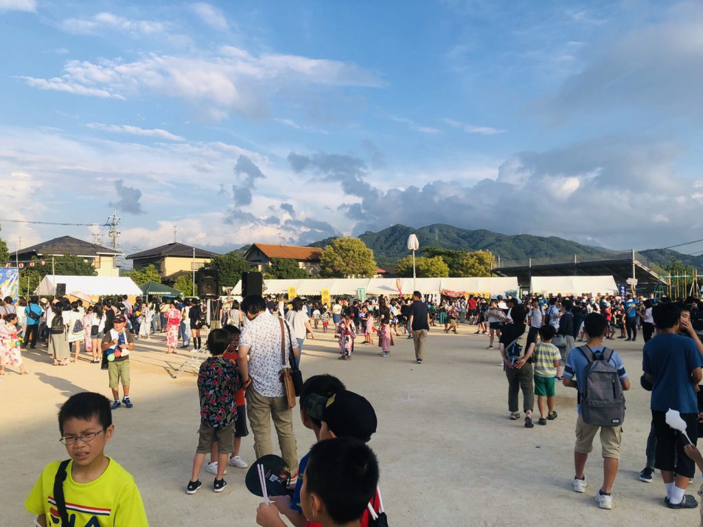 【ザ・サンパークシティ守恒】守恒小学校の夏祭り