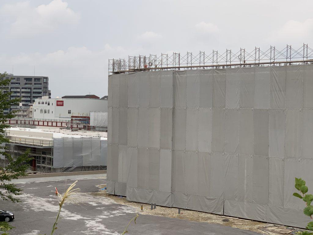 【ザ・サンパークシティ守恒】現地の建設状況について