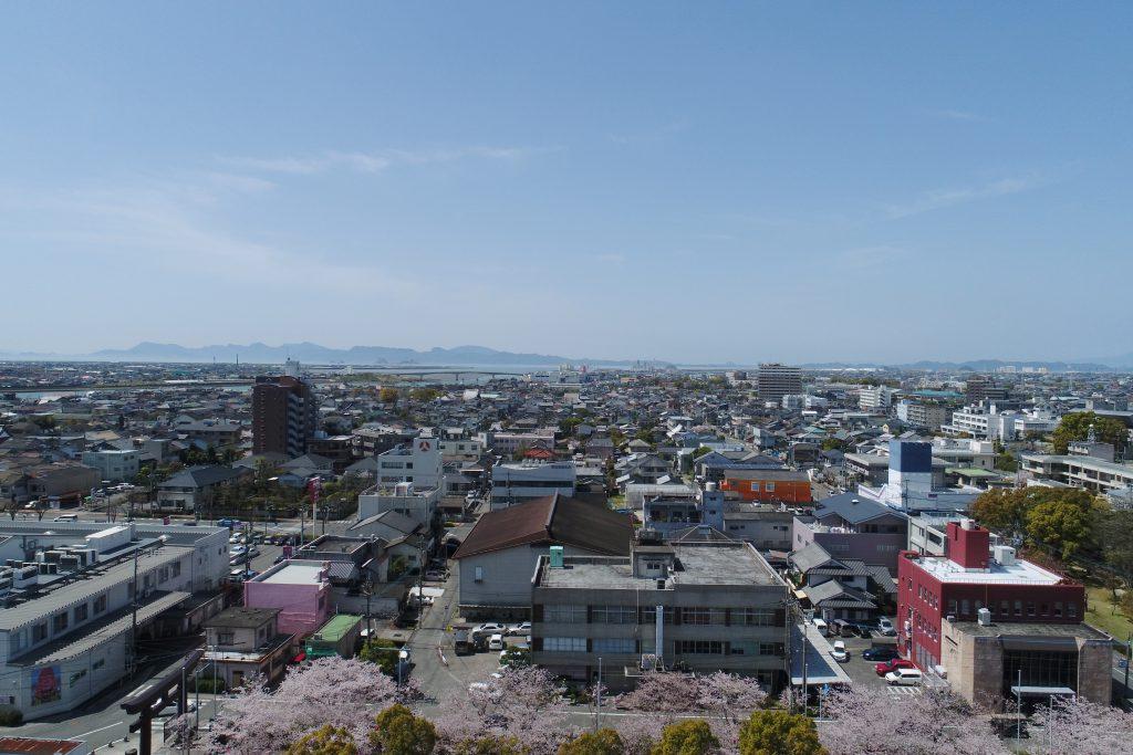 【松江城テラス】マンションの魅力!眺望のご案内!