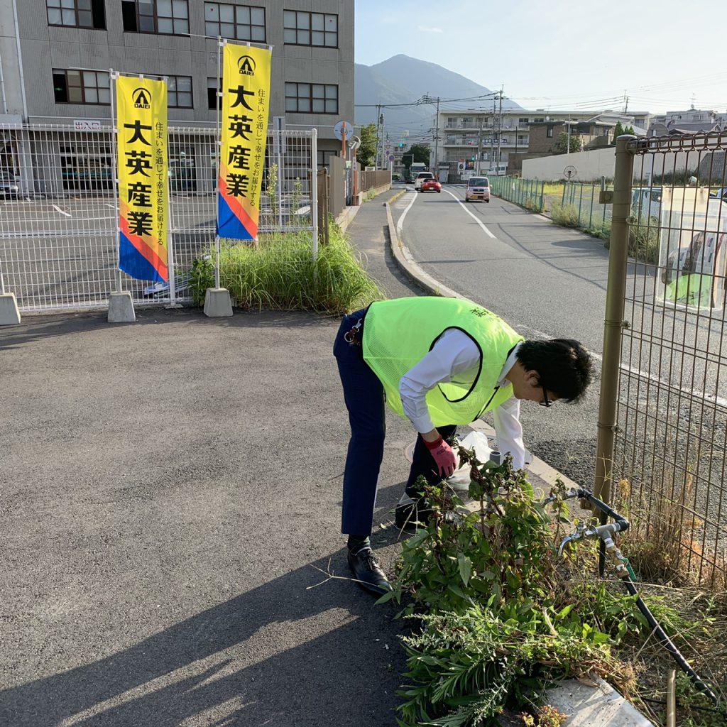 【ザ・サンパークシティ守恒】ボランティア清掃を行いました