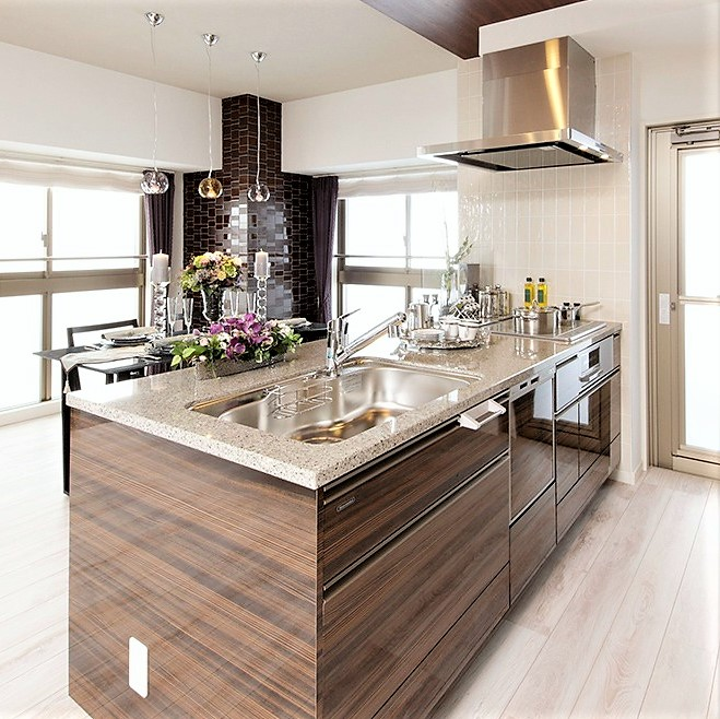 【門司港テラス】広々嬉しい♪『キッチン設備』のご紹介