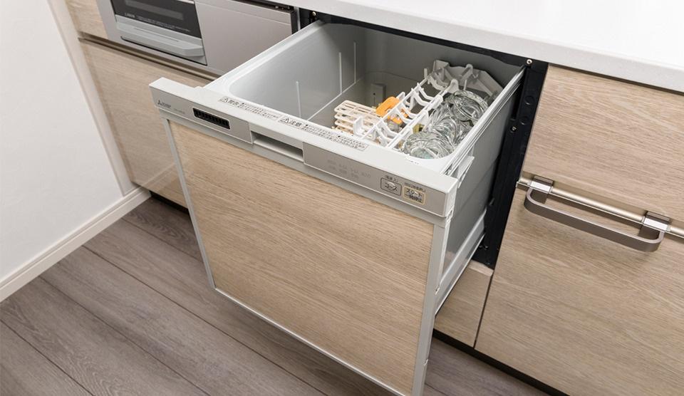 【南宮崎バイズ】機能性とデザインを融合させたキッチンスペース