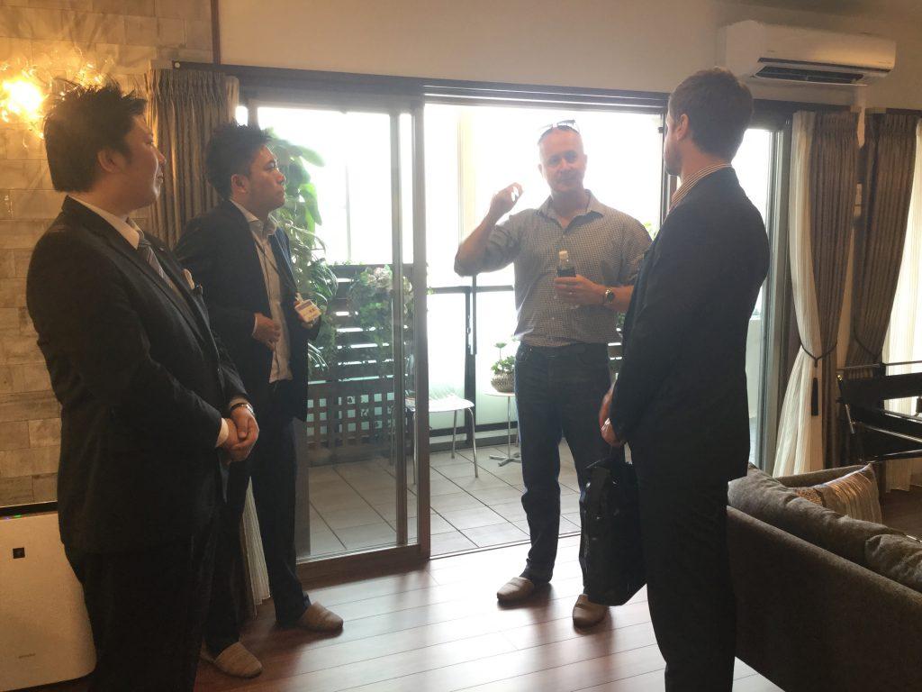 【ザ・サンパークシティ守恒】オーストラリアの住宅会社の方が視察に来ました