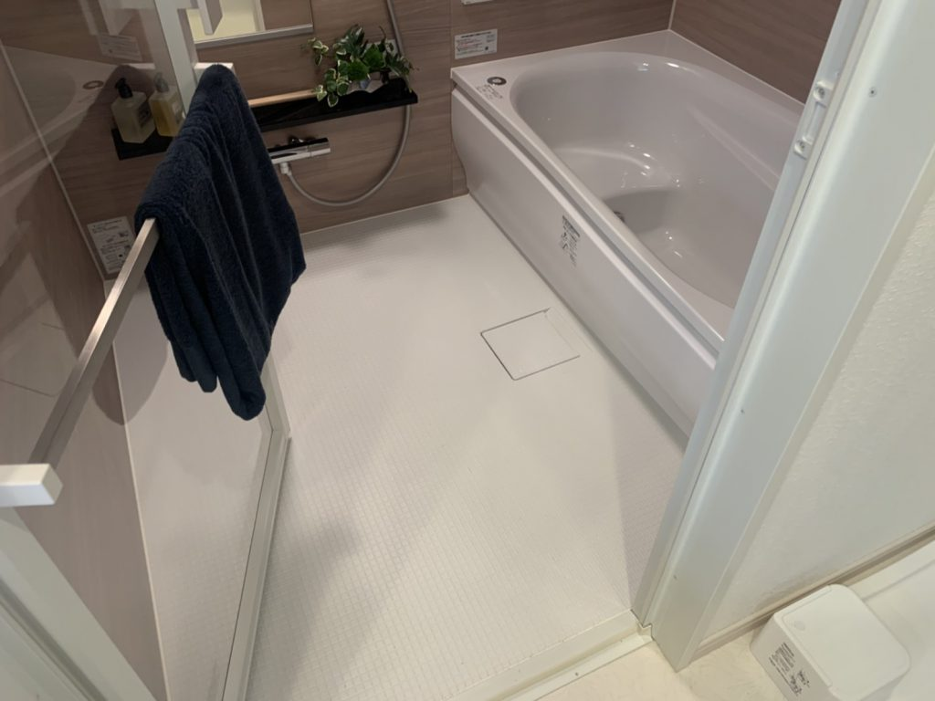 【香椎駅前グラッセ】バスルームのご紹介