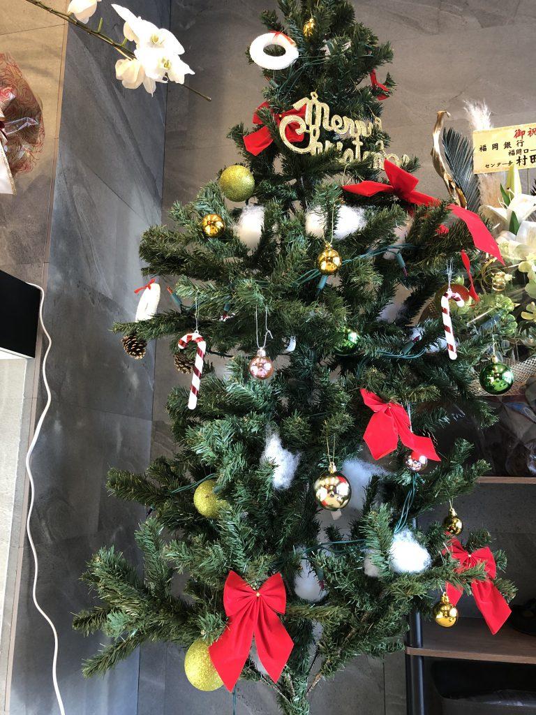 【香椎駅前グラッセ】クリスマス仕様になりました