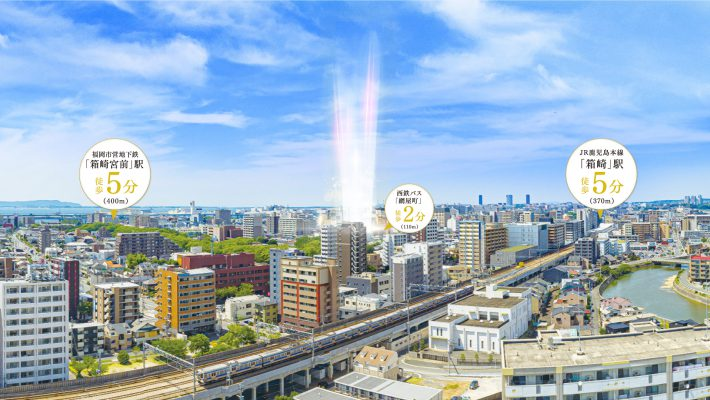 サンパーク箱崎駅前グラッセ