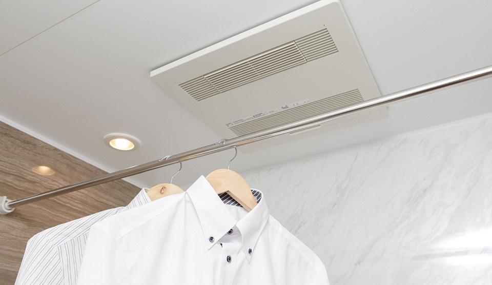 【南宮崎バイズ】浴室換気暖房乾燥機の活用法