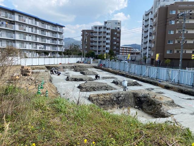【香椎駅前グラッセ】建設状況のお知らせ