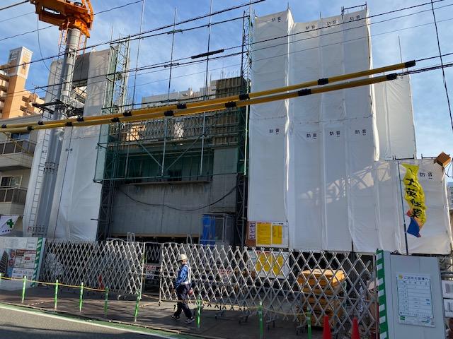 【箱崎駅前グラッセ】建設状況のお知らせ