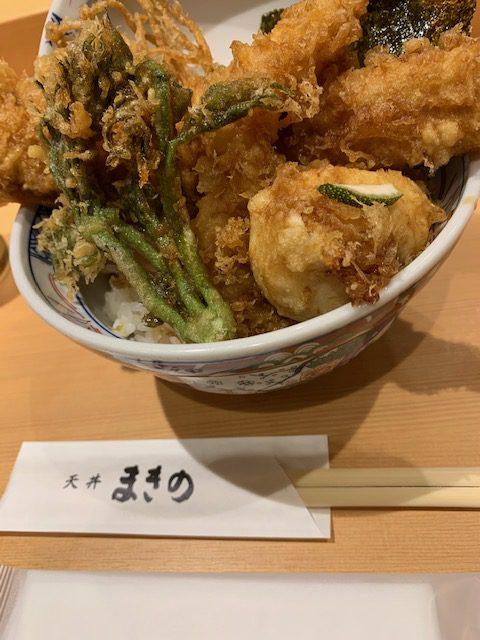 【桜町南ヴィータジオーネ】九州初上陸のお店を堪能~海鮮天丼まきの~
