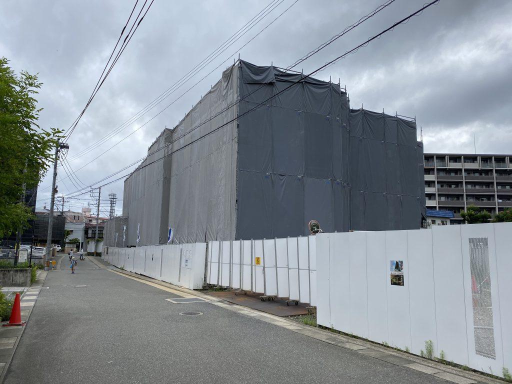 【香椎駅前グラッセ】建設現場