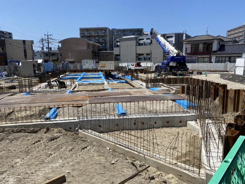 【箱崎東グラッセ】建築状況のお知らせ