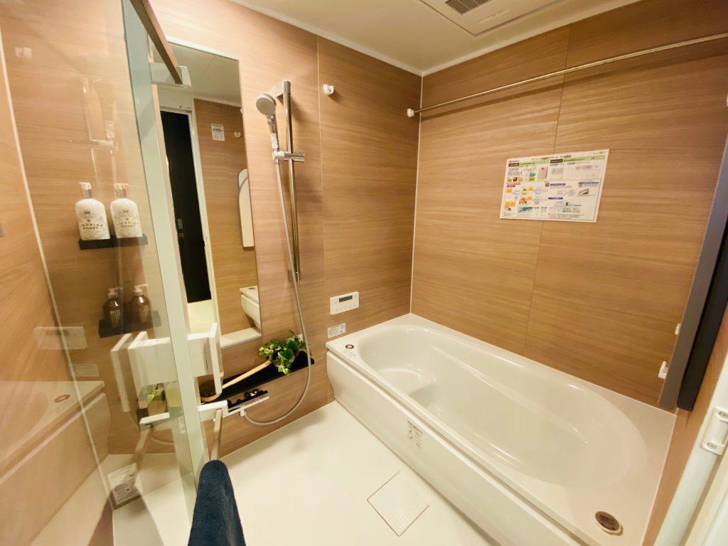 【香椎駅前グラッセ】BATH ROOMのご紹介