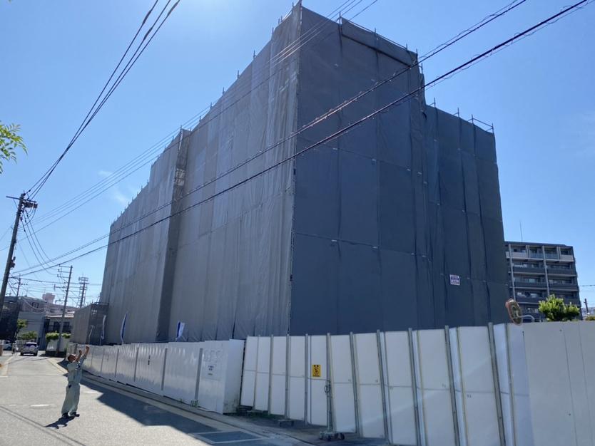【香椎駅前グラッセ】工事の進捗状況について