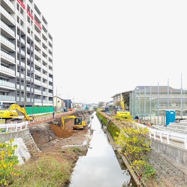 【長嶺南グラッセ】河川氾濫改修工事