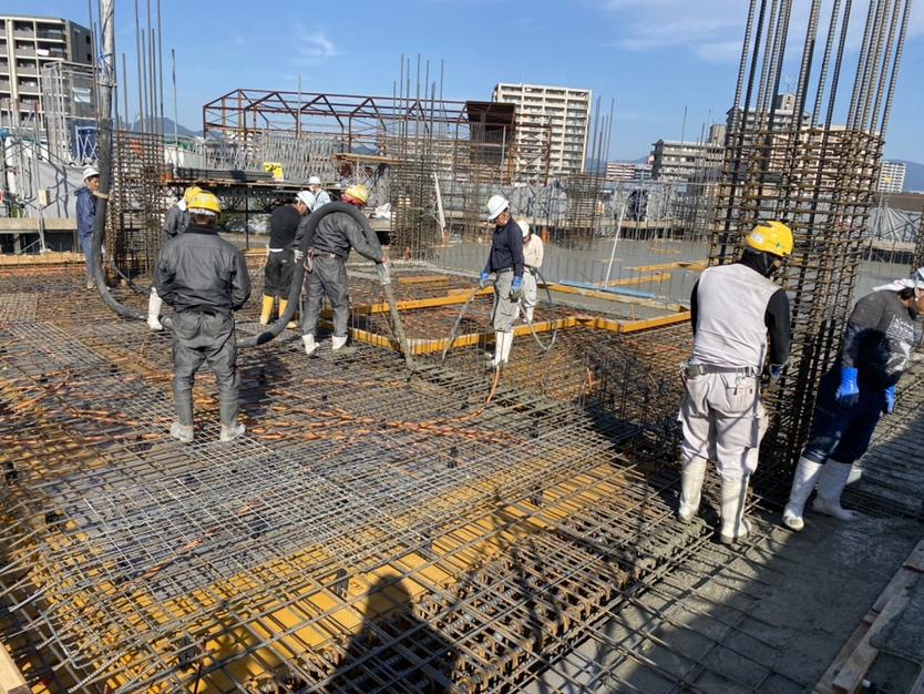 【箱崎東グラッセ】工事の進捗状況について