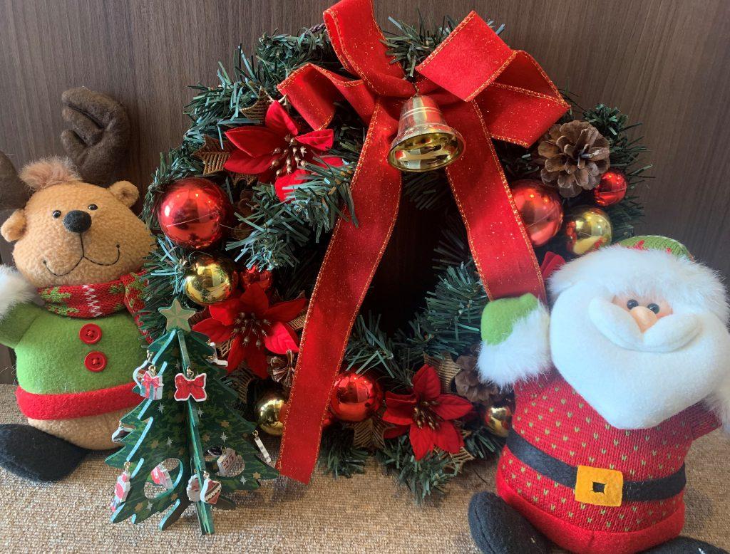 【国分中央レジデンス】クリスマスイベント開催中