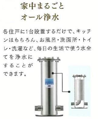 【香椎駅前グラッセ】浄水設備について
