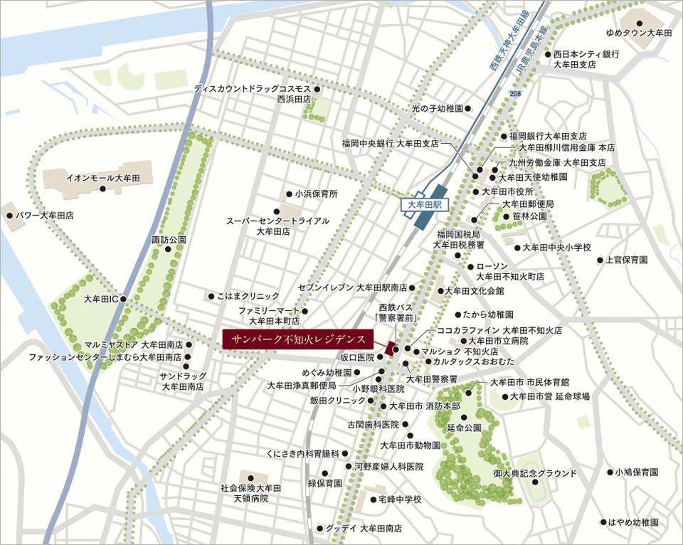 【不知火レジデンス】マンション周辺の様々な施設について~ 金融機関 &病院編~