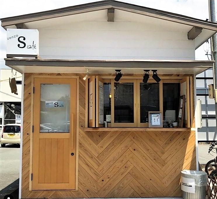 【小郡駅前レジデンス】小郡駅前の人気カフェ♪「 zenzo S café 」